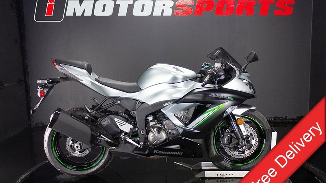 2018 Kawasaki Ninja ZX-6R for sale 200546982